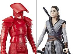 "Star Wars 3.75"" Force Link Rey (Jedi Training) & Elite Praetorian Guard (The Last Jedi) Two-Pack"