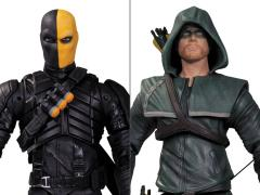 "Arrow (TV Series) Oliver Queen & Deathstroke 6"" Action Figure Two Pack"