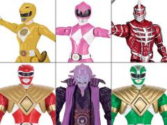"Mighty Morphin Power Rangers Legacy 5"" Figure Wave 2 Set of 6"