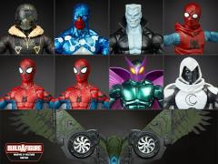 Spider-Man Marvel Legends Wave 6 Case of 8 (Flight Gear BAF)