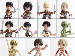 Attack On Titan Action Vinyls Wave 1 Box of 12 Figures