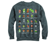 Super Mario Bros. Character Guide Sweatshirt