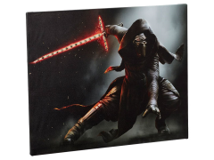 Star Wars Kylo Ren Illuminated Large Canvas Wall Art