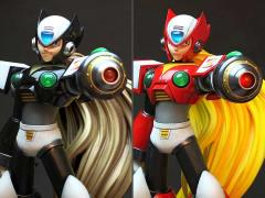 Mega Man X Zero 1/4 Scale Ultimate Statue Set