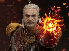The Witcher 3: Wild Hunt Premium Masterline Geralt of Rivia (Skellige Undvik Armor) Statue