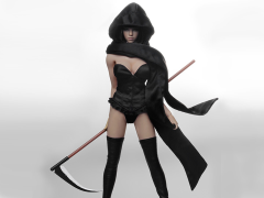 1/6 Scale Cosplay Clothing Set - Reaper
