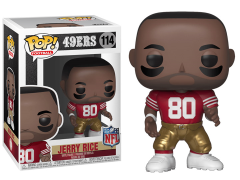 Pop! NFL Legends: 49ers - Jerry Rice (Home)