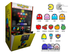 Pac-Man 8-Bit Pin Blind Bag Collection - Box of 28
