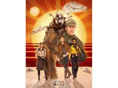Star Wars Buckle Up Lithograph