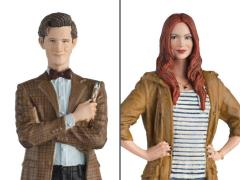 Doctor Who Figurine Collection Companion Set #1 Eleventh Doctor & Amy Pond