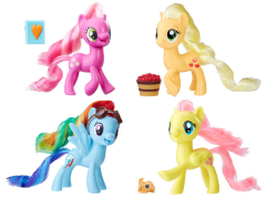 My Little Pony Friendship is Magic Pony Friends Wave 02 - Set of 4