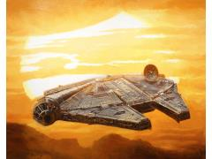 Star Wars Falcon Sunset SDCC 2018 Exclusive Giclee