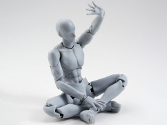 S.H.Figuarts DX Body-kun Takarai Rihito Edition Set (Gray)