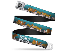 Cowboy Bebop Ein with Puppies SeatBelt Buckle Belt