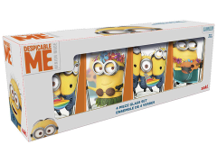 Despicable Me 16 oz Pint Glasses (Set of 4) - USA ONLY