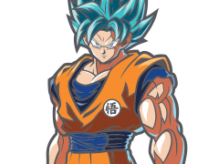 Dragon Ball FighterZ FigPin Super Saiyan God Super Saiyan Goku