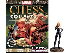Marvel Chess Figure Collection #63 - Lady Mastermind Black Pawn