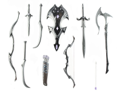Mythic Legions Advent of Decay Vampire Weapons Pack