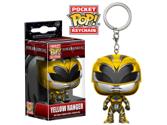 Pocket Pop! Keychain Power Rangers - Yellow Ranger