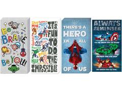 Marvel Inspirational Canvas Art Set of 4