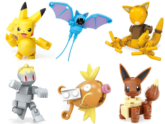 Pokemon Mega Construx Poke Ball Set of 6