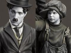Charlie Chaplin The Kid Statue
