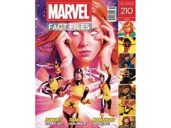 Marvel Fact Files #210