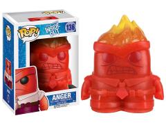 Pop! Disney: Inside Out - Crystal Anger Exclusive