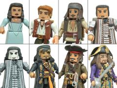 Pirates of the Caribbean: Dead Men Tell No Tales Minimates Series 1 Set of 4 Two-Packs