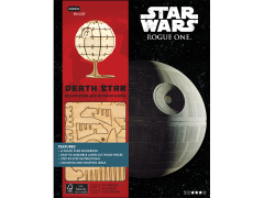 Star Wars IncrediBuilds Death Star Deluxe Book & 3D Wood Model Kit