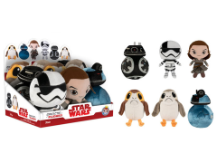Star Wars Galactic Plushies Series 1 Box of 9 (The Last Jedi)