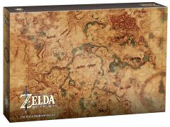 The Legend of Zelda: Breath of the Wild Hyrule Map Premium Puzzle