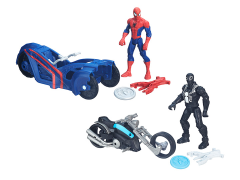 "Ultimate Spider-Man Vs. The Sinister Six 6"" Figures With Cycle Set of 2"