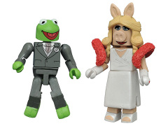 The Muppets Minimates Kermit & Miss Piggy (Formal) SDCC 2016 Exclusive