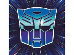 Transformers Autobots Badge Canvas Art Print