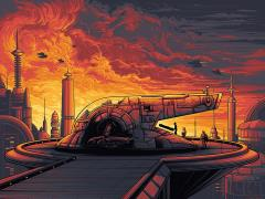 Star Wars Cloud City Art Print