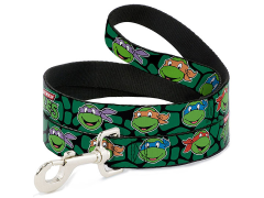 TMNT Turtle Faces (Classic) Dog Leash
