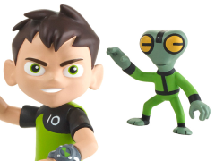 Ben 10 Ben Tennyson & Grey Matter Basic Figures