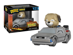 Dorbz Ridez: Back to the Future DeLorean With Einstein