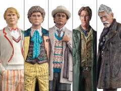 Doctor Who Figurine Collection Mid-Era Doctors Set