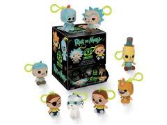 Rick and Morty Mystery Minis Box of 18 Keychain Plush