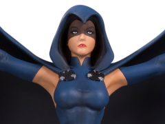 The New Teen Titans Raven Multi-Part Statue Diorama
