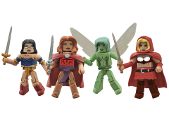 Grimm Fairy Tales Minimates Four Pack