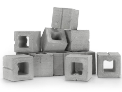Mini Materials 1/12 Scale Mini Half Cinder Blocks (15 Pack)