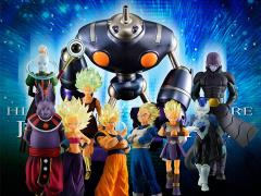 Dragon Ball Super HG Rivals of Universe 6 Exclusive Box of 10 Figures
