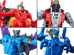 Transformers Power of the Primes Deluxe Wave 4 Set of 4 Figures