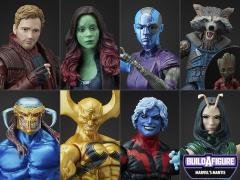 Guardians of the Galaxy Vol. 2 Marvel Legends Wave 2 Set of 7 (Mantis BAF)