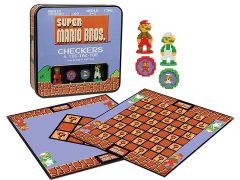 Super Mario Bros. Checkers & Tic-Tac-Toe Collector's Edition