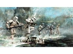 Star Wars Storming Troopers SDCC 2018 Exclusive Lithograph