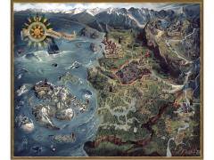 The Witcher 3: Wild Hunt Northern Realms Map Puzzle